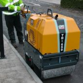 Pedestrian Twin Drum Vibrating Rollers (For Hire)